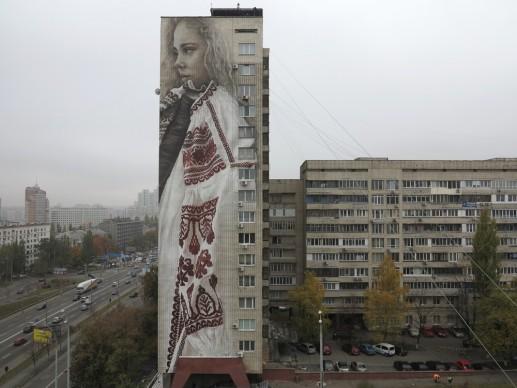 Guido van Helten, Kiev, Ucraina