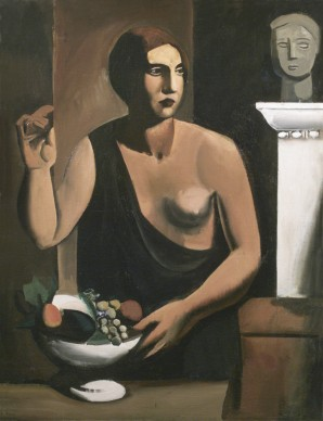 Mario Sironi,  Nudo con fruttiera (Venere), 1923 circa, GAM Galleria Civica d'Arte Moderna e Contemporanea, Torino