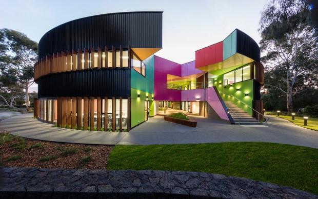 McBride Charles Ryan , Ivanhoe Grammar Senior Years & Science Centre, Doreen, Australia, photo by John Gollings