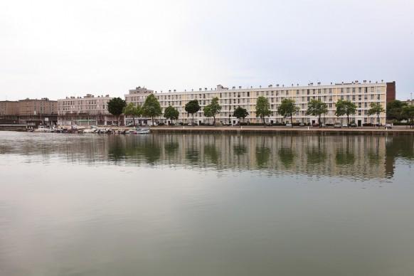 """""""Jardins fantômes"""", permanent installation, Bassin du Roy - le Havre. Photo credit: Courtesy Studio Baptiste Debombourg & Galerie Patricia Dorfmann - Paris"""