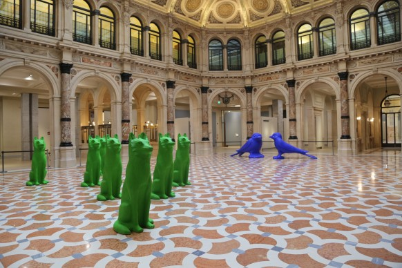 Cracking Art alle Gallerie d'Italia di Piazza della Scala, Milano, settembre-novembre 2017