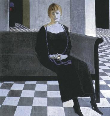 Felice Casorati,  Ritratto di Teresa Madinelli, 1918-1919, Comune di Verona, Galleria d'Arte Moderna Achille Forti