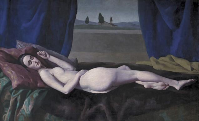 Ugo Celada da Virgilio,  RItratto della moglie, 1925 – 1930, Artdeco Galuchat, Vicenza
