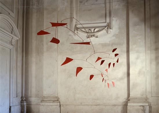 ALEXANDER CALDER, Grande mobile rosso, Red Mobile, 1961, Collezione: Collezione GAM; Torino, GAM-Galleria Civica d'Arte Moderna e Contemporanea, Torino. Su concessione della Fondazione Torino Musei