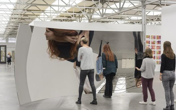 Anish Kapoor, Vertigo, 2010, collezione Museum De Pont, Tilburg. Foto Peter Cox