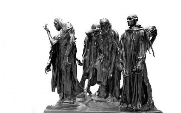 Bentom Wyemji NYC - Metropolitan Museum of Art- Les Bourgeois de Calais - Auguste Rodin