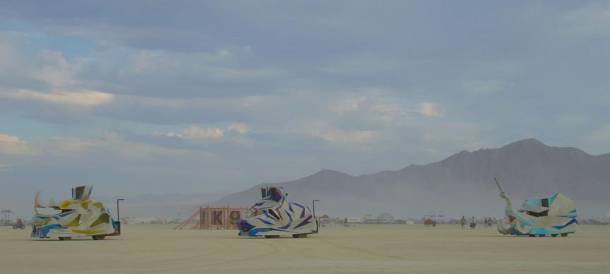 Burning Man 2017, photo by BLM Nevada, fonte Flickr