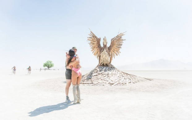 Burning Man 2017, photo by Curtis Simmons, fonte Flickr