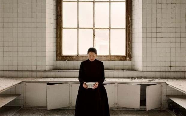 Marina Abramović, The Kitchen V, Carrying the Milk, from the series The Kitchen, Homage to Saint Therese, 2009 © Marina Abramović. Courtesy of the Marina Abramovic Archives