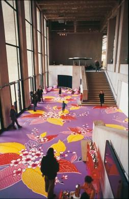 Michael LIN, Palais de Tokyo, 2002. Commissione pubblica, particolare dell'installazione
