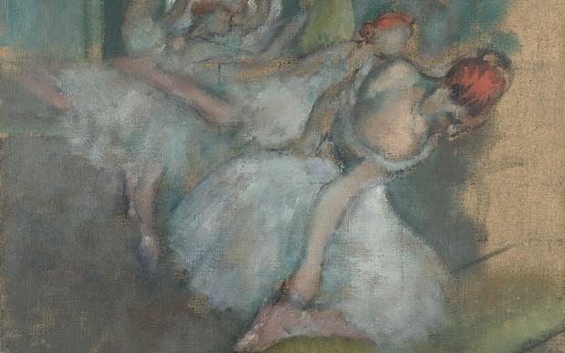 Hilaire-Germain-Edgar Degas, Ballet Dancers, 1890-1900 © The National Gallery, London
