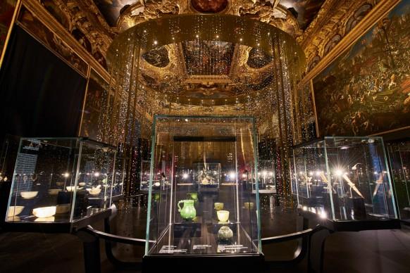 Tesori dei Moghul e dei maharaja: la Collezione Al Thani, installation view della mostra a Palazzo Ducale, Venezia, 9 settembre 2017 - 3 gennaio 2018