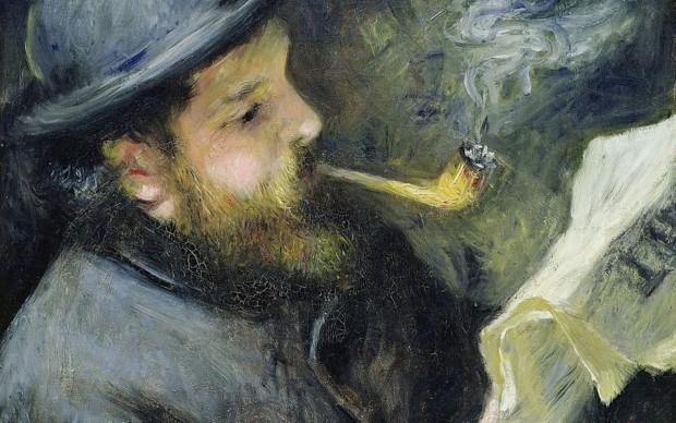 Pierre-Auguste Renoir, Claude Monet lisant, 1873