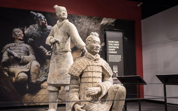 Terracotta Warriors of the First Emperor - Franklin Institute Philadelphia