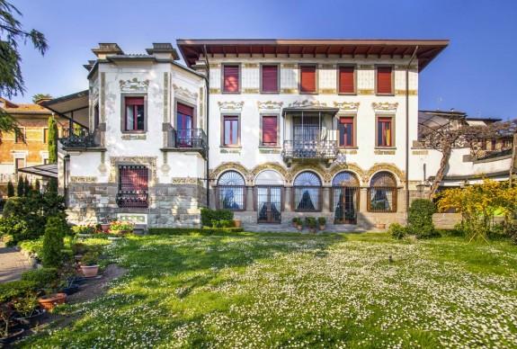 Villa Faccanoni a Sarnico - foto di Sergio Ramari - opera di Giuseppe Sommaruga