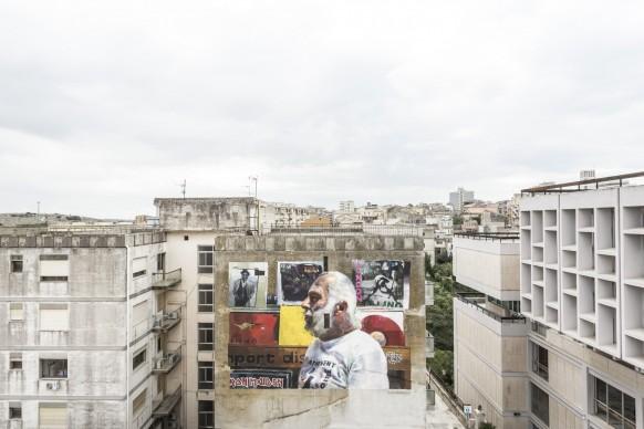 Sebas Velasco per Festiwall 2017, Ragusa, photo by Marcello Bocchieri