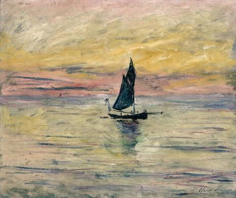 Claude Monet, Barca a vela. Effetto sera, 1885, Parigi, Musée Marmottan Monet © Musée Marmottan Monet, paris c Bridgeman-Giraudon / presse
