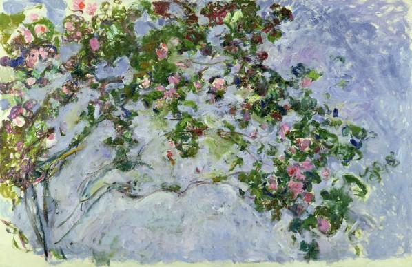 Claude Monet, Le rose, 1925-1926, Parigi, Musée Marmottan Monet © Musée Marmottan Monet, paris c Bridgeman-Giraudon / presse
