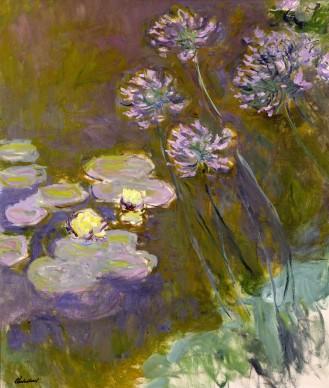 Claude Monet, Ninfee e agapanti, 1914-1917, Parigi, Musée Marmottan Monet © Musée Marmottan Monet, paris c Bridgeman-Giraudon / presse