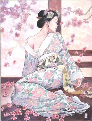 Milo Manara, illustrazione di Madama Butterfly