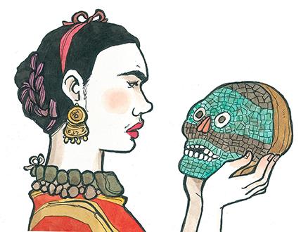 Frida Kahlo © Vanna Vinci