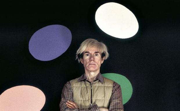 Aurelio Amendola, Andy Warhol, La factory, New York, 1986