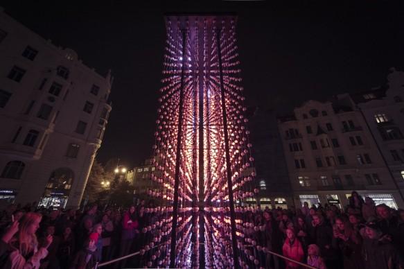 Hyperbinary, Signal Festival - Praga, photo by Alexander Dobrovodsky
