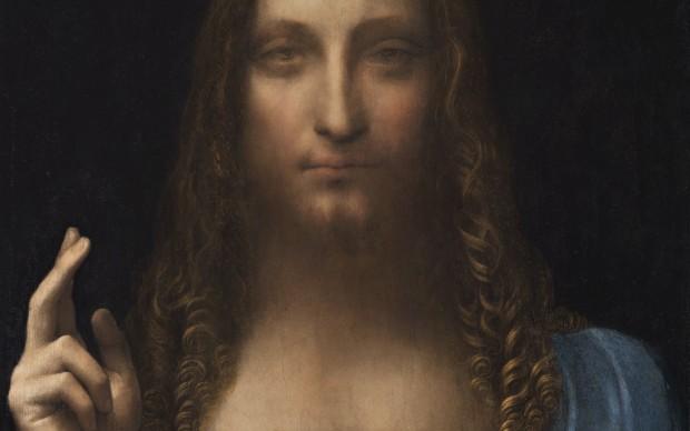 Leonardo da Vinci, Cristo Salvator Mundi dettaglio