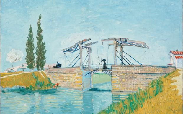 Vincent van Gogh, The Langlois Bridge at Arles, May 1888, oil on canvas, Wallraf-Richartz Museum & Fondation Corboud, Cologne