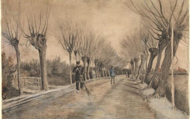 Vincent Van Gogh, Strada a Etten