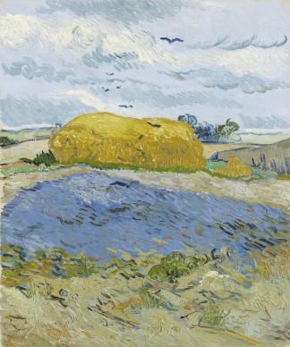 Vincent van Gogh, Covone sotto un cielo nuvoloso, 1889, Otterlo, Kröller-Müller Museum, The Netherlands