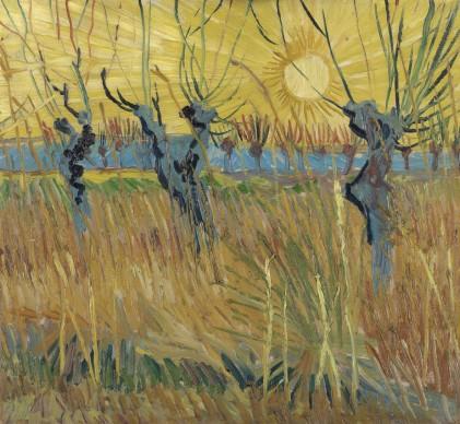 Vincent van Gogh, Gelsi potati al tramonto, 1888, Otterlo, Kröller-Müller Museum, The Netherlands
