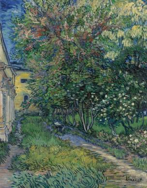 Vincent van Gogh, Il giardino dell'ospedale a Saint-Rémy, 1889, Otterlo, Kröller-Müller Museum