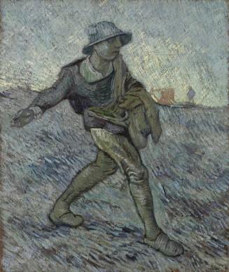 Vincent van Gogh, Il seminatore (da Millet), 1890, Otterlo, Kröller-Müller Museum