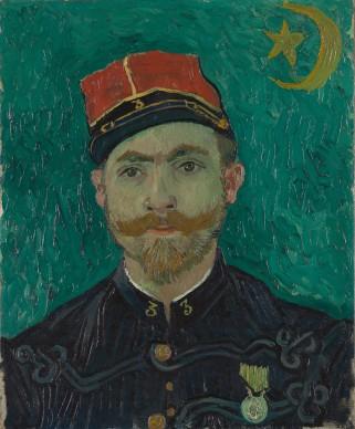 Vincent van Gogh, Ritratto del sottotenente Milliet (L'amante), 1888, Otterlo, Kröller-Müller Museum, The Netherlands