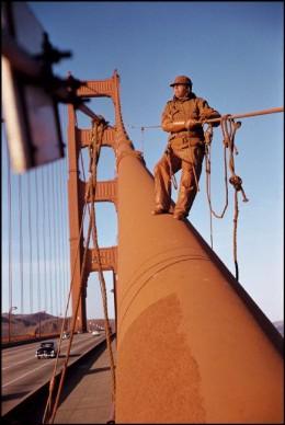 Werner Bischof, Golden Gate Bridge, San Francisco, USA, 1953 © Werner Bischof - Magnum Photos