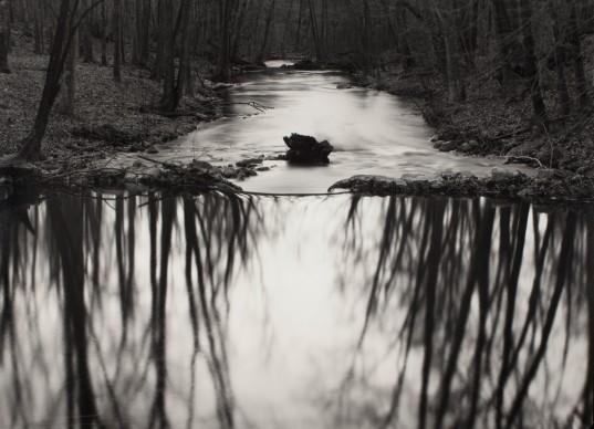 Paul Caponigro,   Reflecting Stream, Redding, CT, 1969  © Paul Caponigro