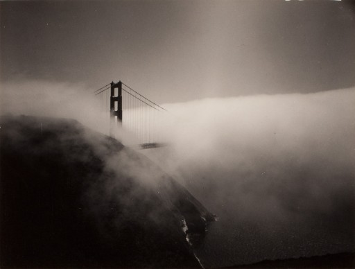 Minor White,   Golden Gate Bridge, 1959. Reproduced with permission of the Minor White   Archive, Princeton University Art Museum © Trustees of Princeton University