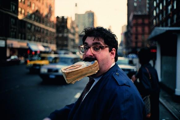 Jeff Mermelstein, Sidewalk, 1995 © Jeff Mermelstein