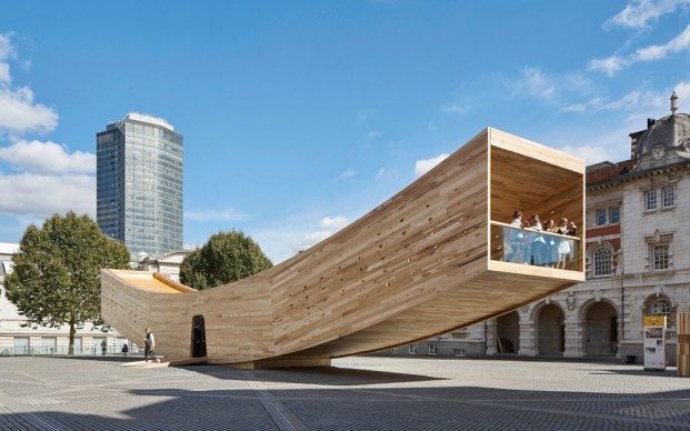 Alison Brooks Architects , Smile, photo by Paul-Riddle.co