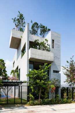 Vo Trong Nghia Architects, Binh House