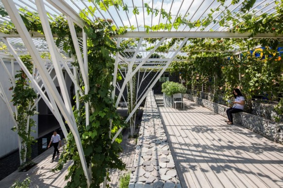 Cong Sinh Architects, Vegetable Trellis