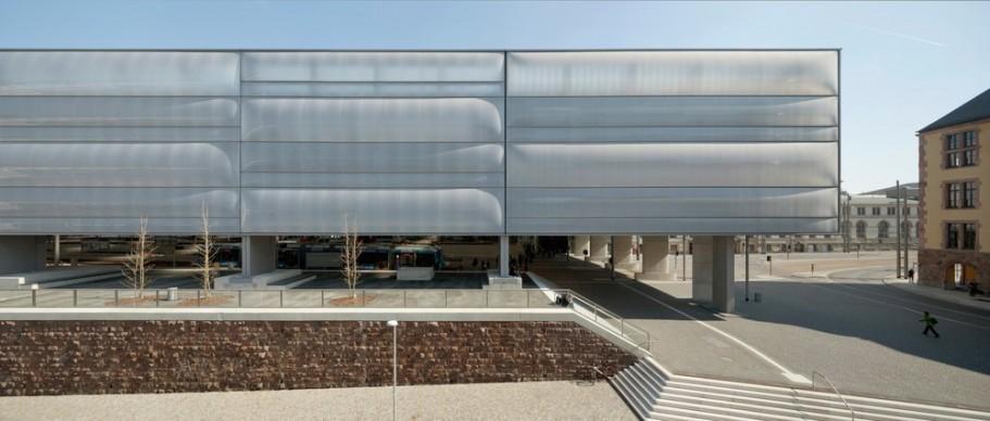 Gruntuch Ernst Architects, Transformation Chemnitz Central Station