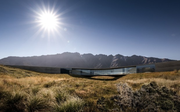 Queenstown House by Monk Mackenzie Architects Photo credit: Future Projects House
