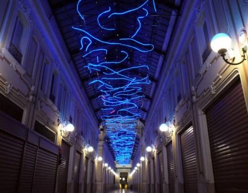 Marco Gastini, L'energia che unisce si espande nel blu