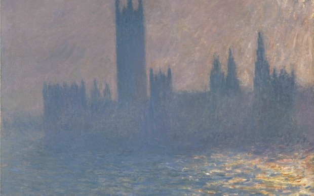 Claude Monet, Houses of Parliament, Sunlight Effect, 1903, Brooklyn Museum of Art, New York