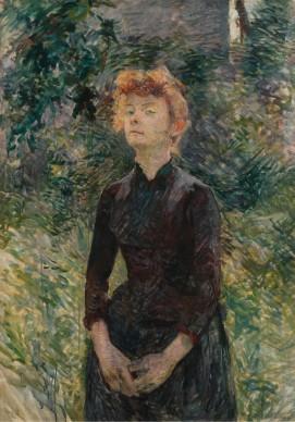 Henri de Toulouse-Lautrec, À Batignolles, 1888, Nahmad Collection, Mónaco