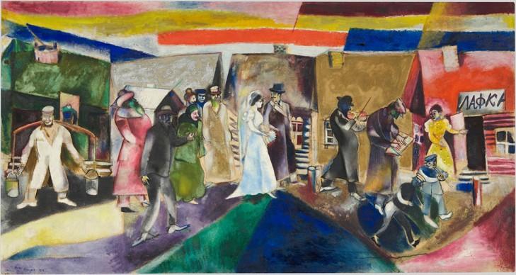 Marc Chagall, Die Hochzeit (La noce), 1911 © Musée national d'art moderne, Centre Georges Pompidou, Paris ProLitteris, Zürich