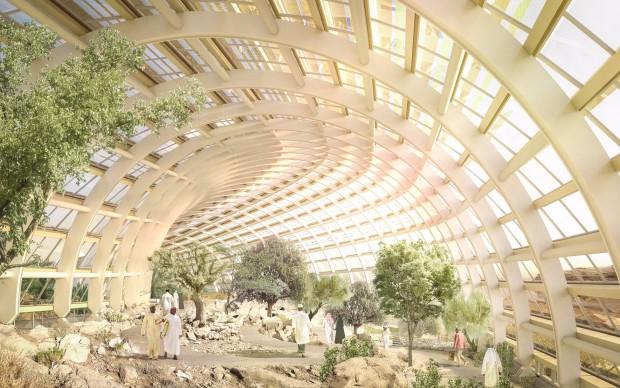 Oman Botanic Garden by Arup, Grimshaw e Haley Sharpe Design, Oman