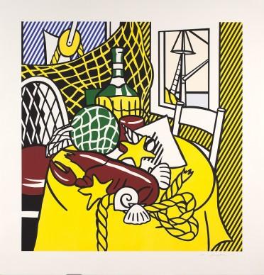 Roy Lichtenstein, Still Life with Lobster, 1974